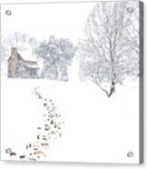How Many Snows? Acrylic Print