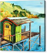 How To Use Old Paint Acrylic Print