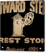 Howard Stern Rest Stop Acrylic Print