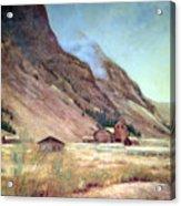 Howardsville Colorado Acrylic Print by Evelyne Boynton Grierson