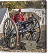 Howitzer Battle Of Honey Springs V3 Acrylic Print