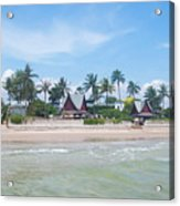 Huahin Beach View Acrylic Print
