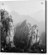 Huangshan Peaks Acrylic Print