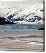 Hubbard Glacier Alaska Wilderness Acrylic Print