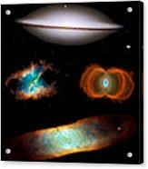 Hubble Greatest Hits Acrylic Print