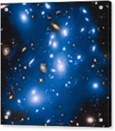 Hubble Sees Ghost Light From Dead Galaxies Acrylic Print