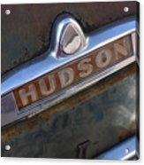 Hudson Car Emblem Acrylic Print
