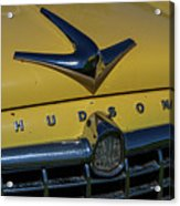 Hudson Hood Ornament And Logo Acrylic Print