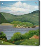 Hudson River Acrylic Print