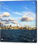 Hudson Waterfront Acrylic Print