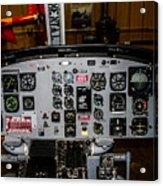 Huey Instrument Panel Acrylic Print