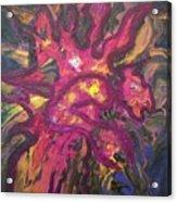 Huffalon Nekkid In The Wood Acrylic Print