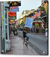 Huge Ass Beers - Bourbon Street New Orleans Acrylic Print