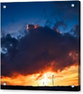 Huge Dusk Cloud Acrylic Print