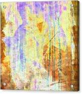Hugging Canvas Acrylic Print