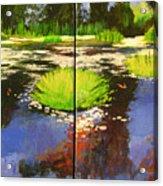 Hughes Water Garden Acrylic Print