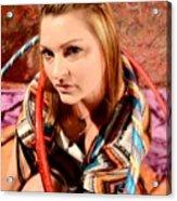 Hula Girl 2 Acrylic Print