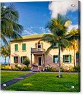 Hulihe'e Palace, Kona, Big Island Hawaii Acrylic Print