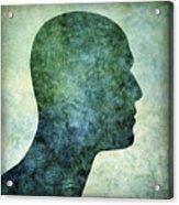 Human Representation Acrylic Print by Bernard Jaubert