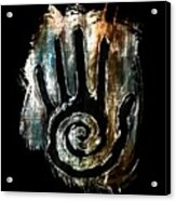 Humanity Native Symbol Acrylic Print