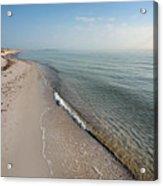 Humble Beach Acrylic Print