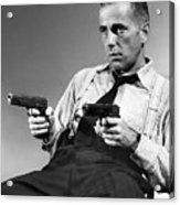 Humphery Bogart As Gangster Roy Earle High Sierra 1941 Acrylic Print