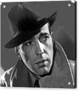 Humphrey Bogart Publicity Portrait Casablabca 1942-2016 Acrylic Print