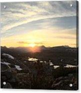 Humphreys Basin Sunset Acrylic Print