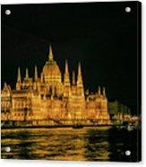 Hungarian Parliament  Acrylic Print