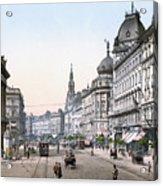 Hungary: Budapest, C1895 Acrylic Print by Granger