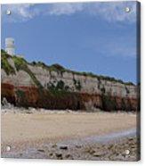Hunstanton Cliffs Acrylic Print