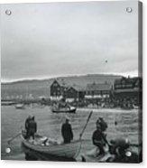 Hunt For Pilot Whales At Torshavn Acrylic Print