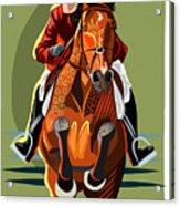 Hunter Jumper Acrylic Print