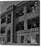 Hunter Kansas High School Acrylic Print