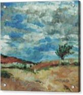 Hunter Lake Hillside Acrylic Print