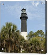 Hunting Island Lighthouse Acrylic Print