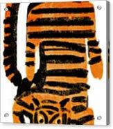 Hunting Tiger Acrylic Print