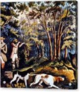 Hunting: Woodcock, 1852 Acrylic Print