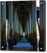 Huntington Beach Pier 2 Acrylic Print