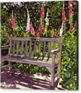 Huntington Spring Acrylic Print