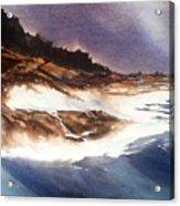 Hurricane '03' Halifax Acrylic Print by Don F  Bradford