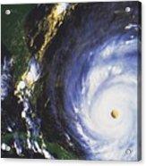 Hurricane Floyd Acrylic Print