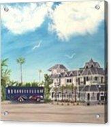Hurricane Restaurant Pass A Grill Florida Acrylic Print