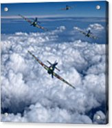 Hurricanes On Your Tail Acrylic Print