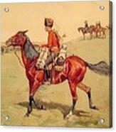 Hussar Russian Guard Corps Acrylic Print