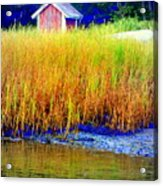 A Tiny Little Hut For Tiny Little People Acrylic Print