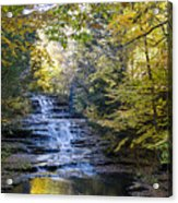 Huyck Preserve Falls Acrylic Print