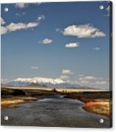 Hwy 142 Rio Grande River Acrylic Print