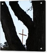 Hwy 87 Cross One Acrylic Print