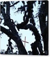 Hwy 87 Cross Two Acrylic Print
